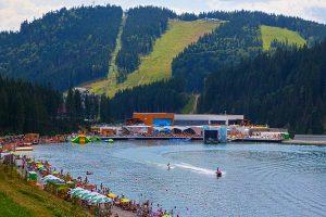 Автобусний тур в Карпати влітку / відпочинок в Карпатах біля озера