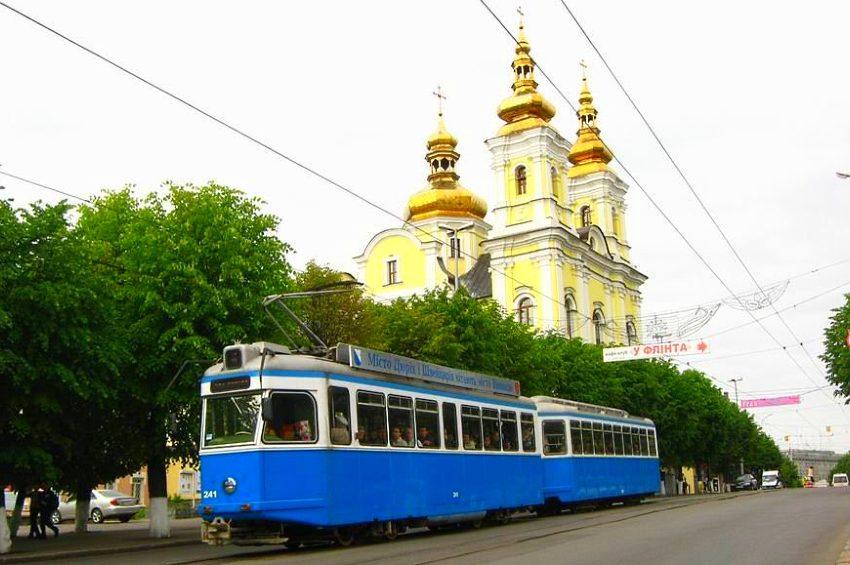 Вінниця трамваї