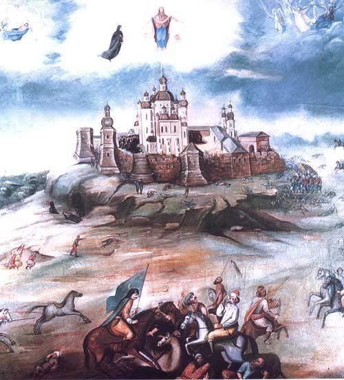 Почаївський монастир у 1800 р.