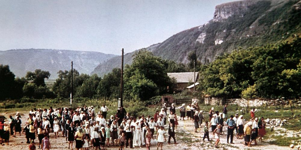 Село Бакота к затоплению (1970)