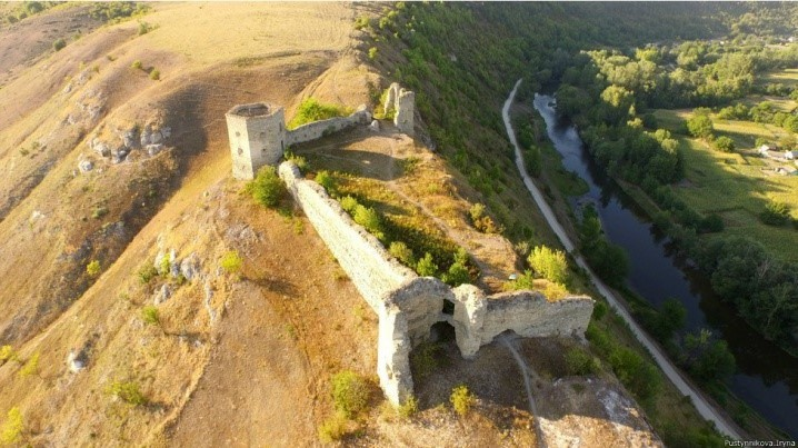 Кудринецкого зaмок-крепость (Тернопильшинa)