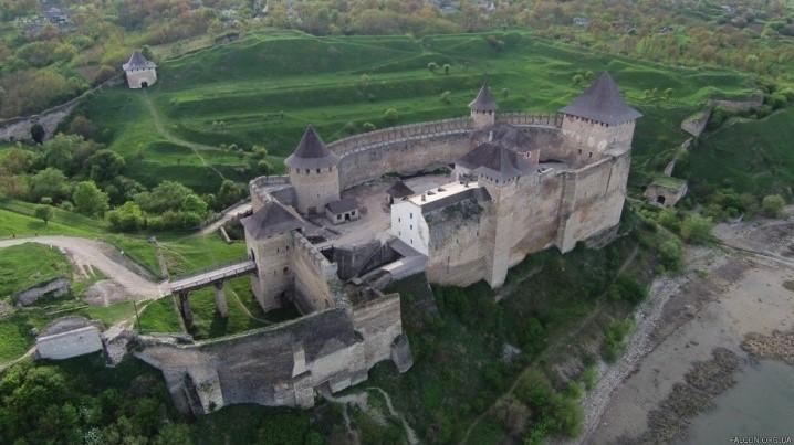 крепость на Днестре