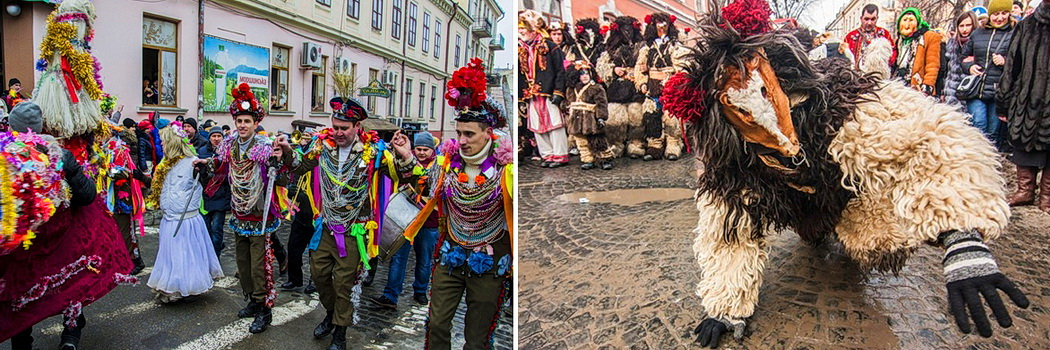 Фестиваль Маланок в Черновцах