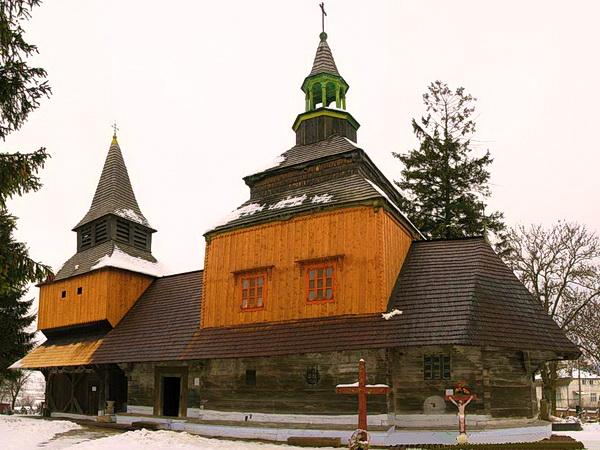 ГУЦУЛЬСЬКА РАПСОДІЯ (зимовий) | Рогатин Церква Святого Духа