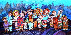 Рождественская Магия Закарпатья 93