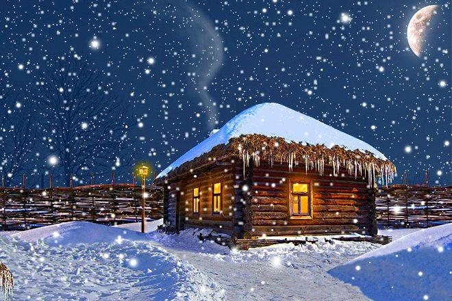 Різдво на Полтавщині / Різдво в Диканьці