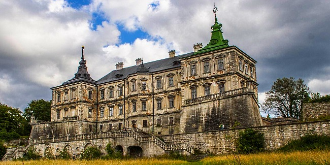 Подгорецкий замок подорож україною