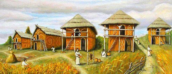 трипільська культура картинки