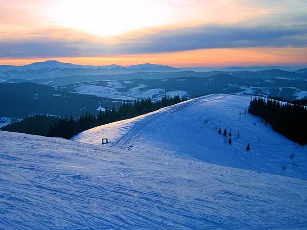 Карпаты гора Высокий Верх (Захар Беркут) Славское-Волосянка