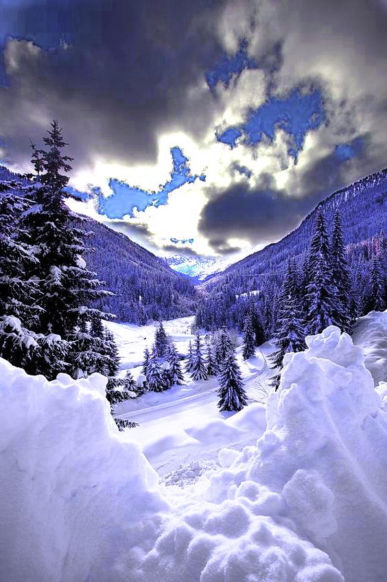 Зима Карпати