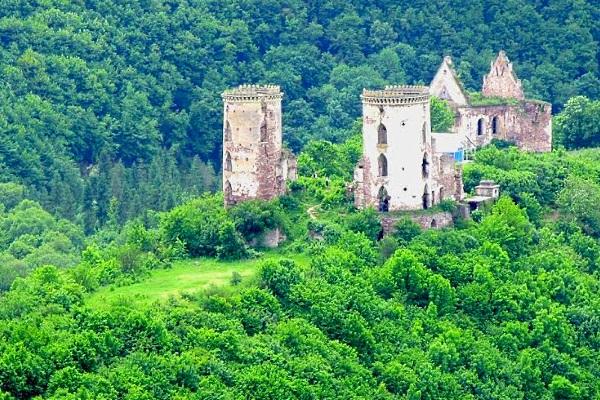 Тернопілля, Нирків, Червоногородський замок
