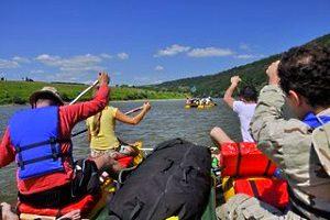 Туры по Украине, сплав по реке Днестр