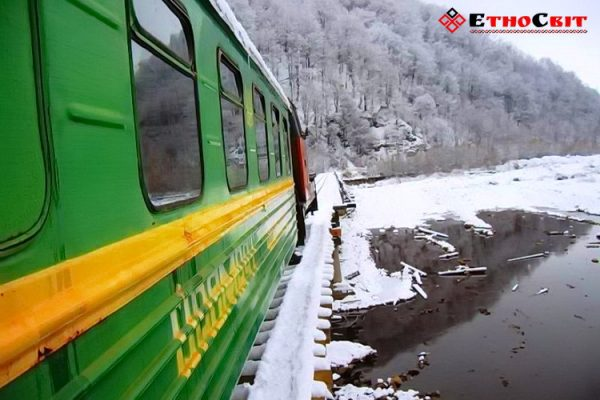карпатський трамвайчик екскурсія, Карпатский трамвай