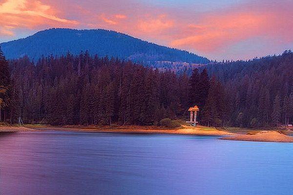 Украина Закарпатье Озеро Синевир фото