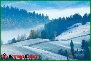 Панорама Карпат - экскурсия в Новогоднем туре в Карпаты