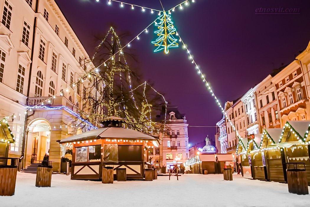 Новогодний тур во Львов из Киева / Новорічний тур до Львова
