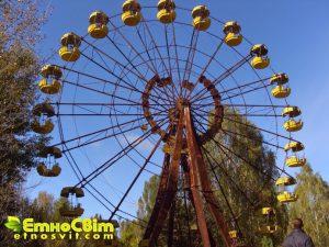 Прип'ять парк фото / Екскурсія в Чорнобиль