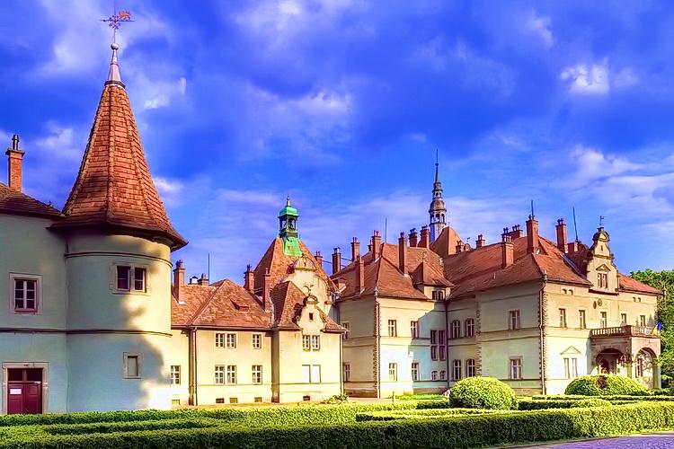 Замки Закарпатья - дворец Шенборнов