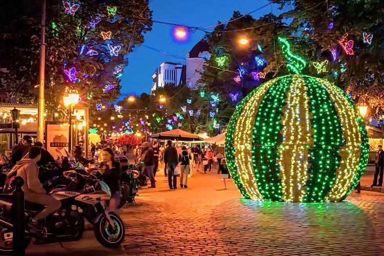 улица Дерибасовская в Одессе фото