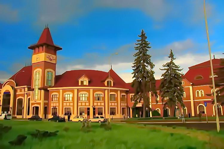 Ужгород, железнодорожный вокзал