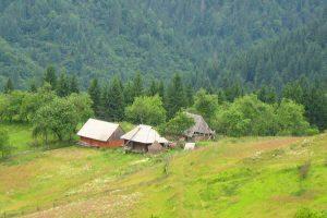 Село Кужбиї в Закарпатті