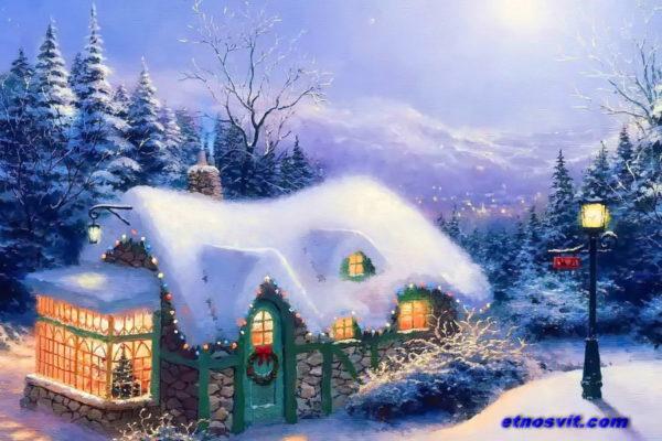 РОЖДЕСТВО В КАРПАТАХ / Різдво в Карпатах