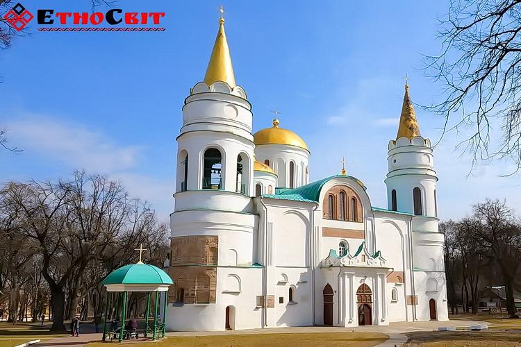 Чернигов Спасо-Преображенский собор