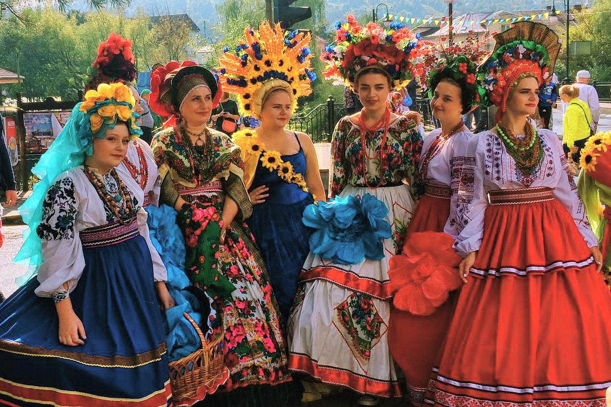 Фестиваль Гуцульская брынза на Раховщине