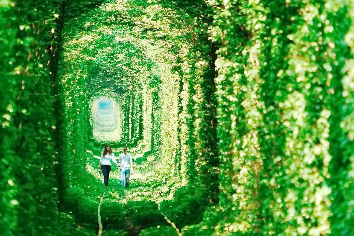Клевань – Тунель Кохання