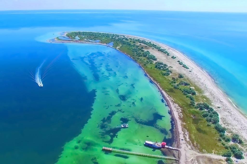 Острів Джарилгач - найбільший острів України