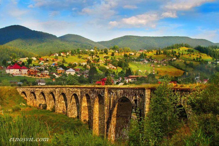 Екскурсія з Ясіня - Віадук, Ворохта, Карпати