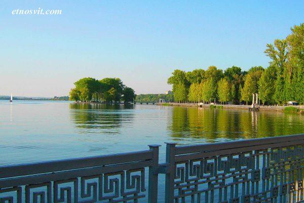 Экскурсия в Тернополь, озеро