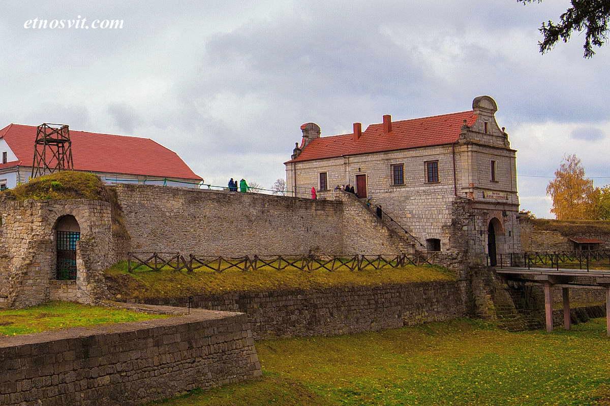 Экскурсия в Збараж, замок