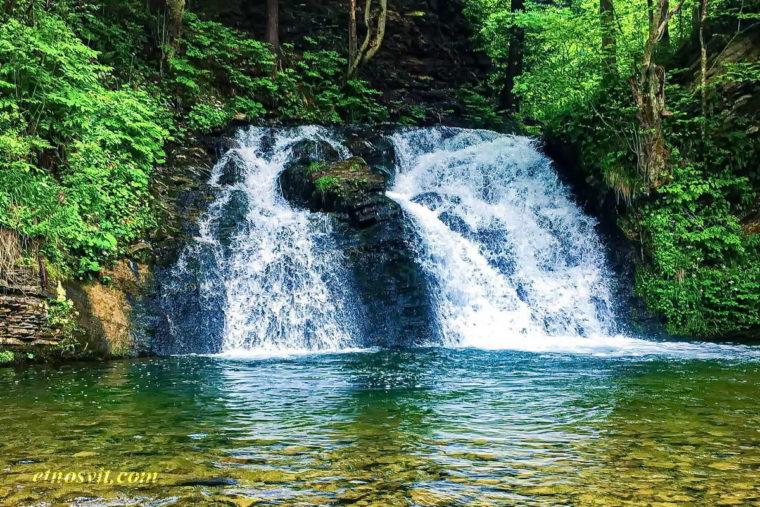водоспад Гуркало - один із наймальовничіших на Львівщині