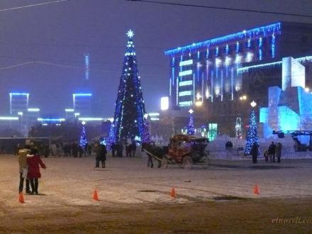 Новый год в Харькове + Полтава из Киева
