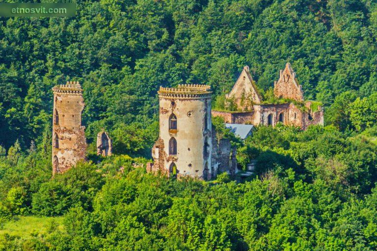 Червоногородський замок | Тернопільщина