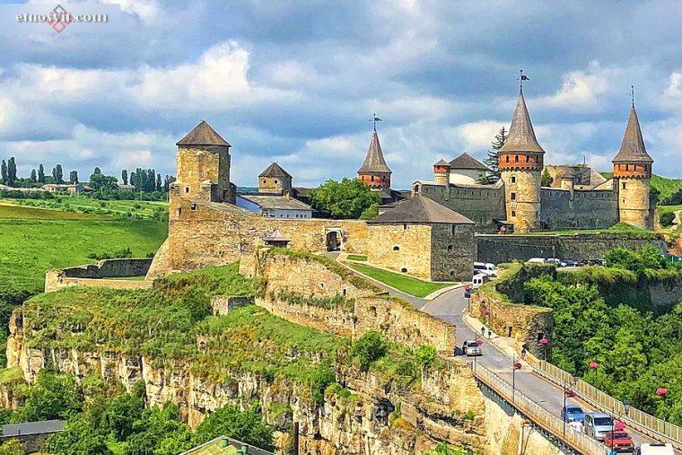 Каменец-Подольская крепость   Хмельницкая область