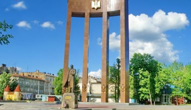 Памятник Степану Бандере | Львов