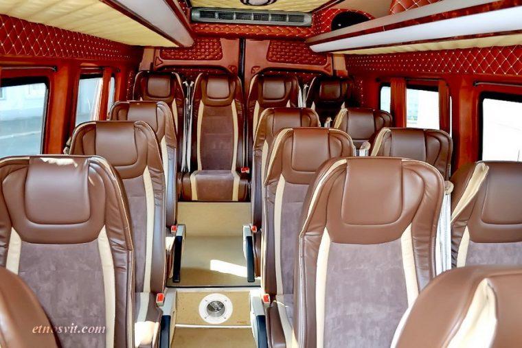 Пассажирские перевозки микроавтобусом Mercedes-Benz Sprinter