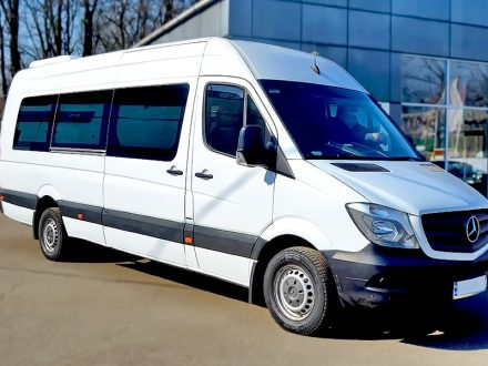 Пасажирські перевезення мікроавтобусом Mercedes-Benz Sprinter