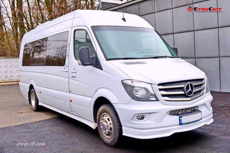 Пассажирские перевозки Mercedes Sprinter 22 места
