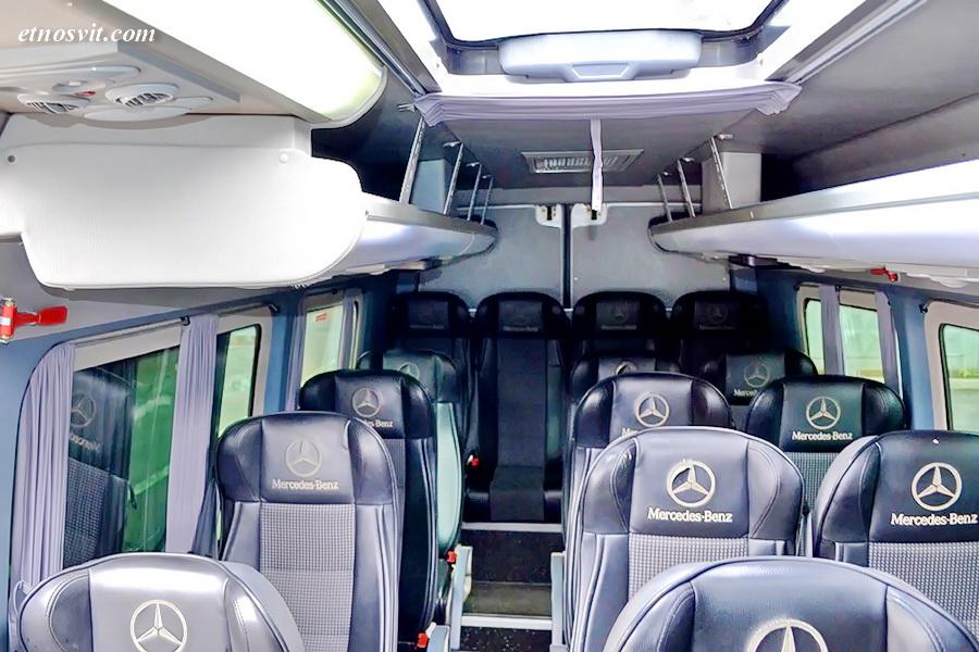 Пасажирські перевезення Mercedes Sprinter 22 місця