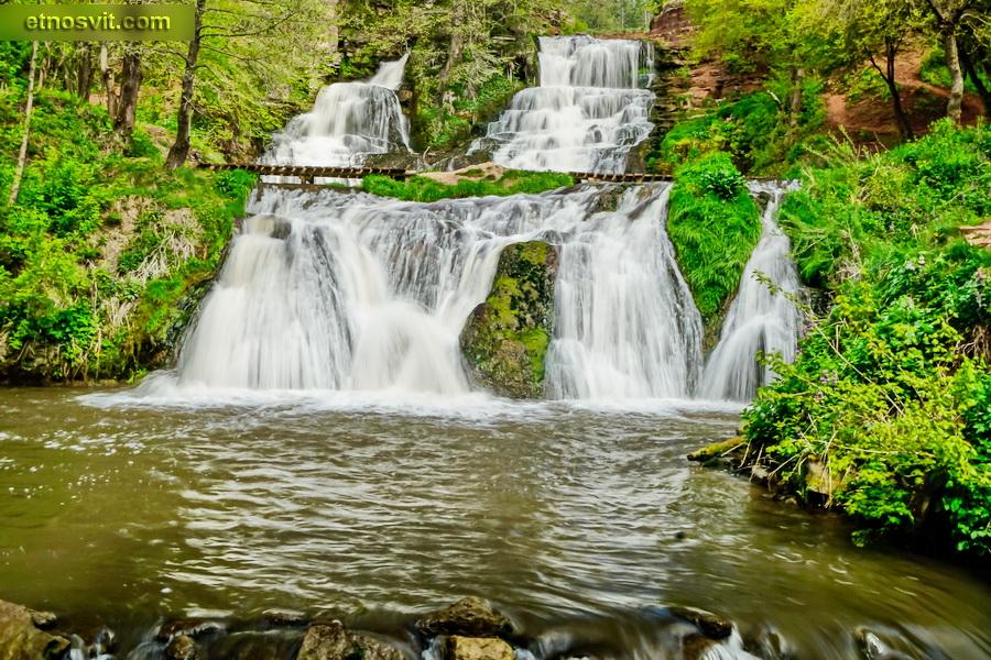 Джуринський водоспад   Тернопільська область
