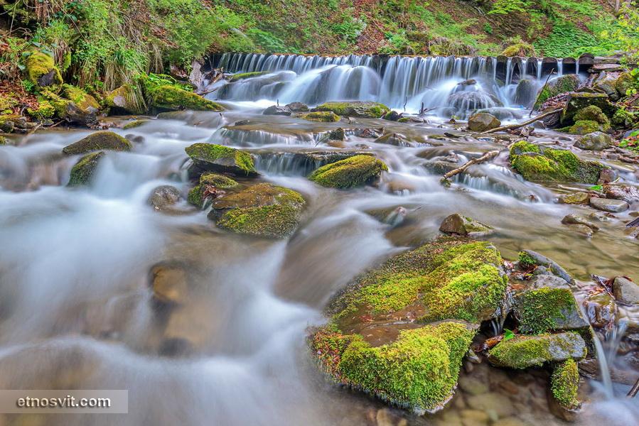 Водопад Шипот, с. Пилипец, Закарпатье