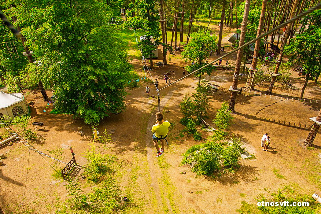 Бучанський міський парк Шалена Білка