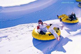Зимний отдых в Украине - Сноутюбинг
