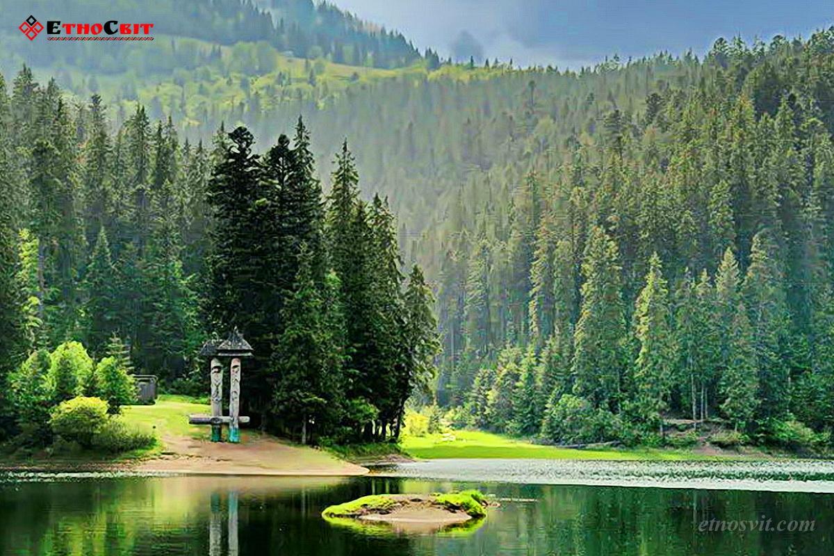 Озеро Синевир, Закарпатье
