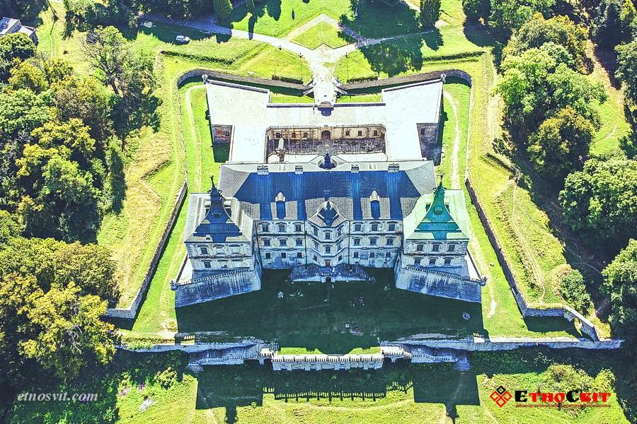Підгорецький замок – Італійський парк